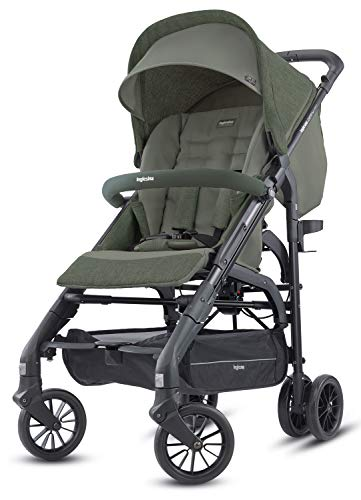 Inglesina Zippy Light Passeggino, 6.9 kg, Camp Green