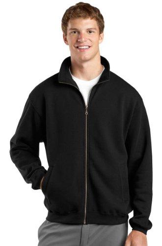 Men's Sweatshirt Zipper No Hood