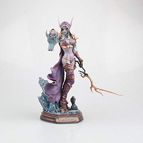 Vokaer World of Warcraft Sylvanas Windrunner Undead Queen Action Figure Doll Toy Model(PVC)