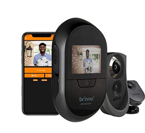 "Brinno SHC500 14 - Mirilla Digital (Puertas 40~80 mm, Negro, AA Pilas, 2.7"" TFT)"