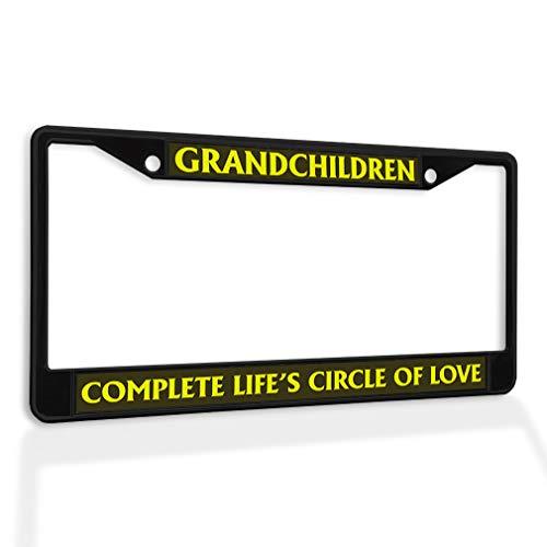 grandchildren license plate frame - 3
