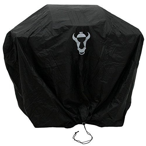 BBQ-Toro Premium Abdeckhaube, Abdeckung in verschiedenen Größen, Schutzhülle für Gasgrill, Holzkohlegrill und mehr ((B) 114 x (H) 89 x (T) 53 cm)