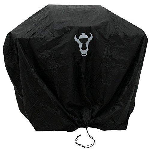 BBQ-Toro Premium Abdeckhaube, Abdeckung in verschiedenen Größen, Schutzhülle für Gasgrill, Holzkohlegrill und mehr ((B) 124 x (H) 104 x (T) 51 cm)