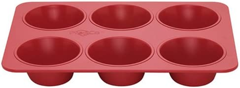 Bake Porter 6 Store Jumbo Max 47% OFF Pan Muffin Red