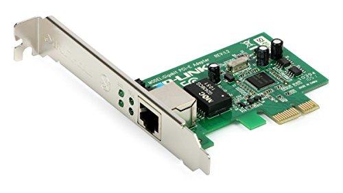 TP-Link TL-SG105 5-Port Gigabit Netzwerk Switch (bis 2000 MBit/s, 10/100/1000Mbp, geschirmte RJ-45 Ports) blau metallic & TG-3468 Netzwerk Karte PCIe (1000/100/10 Mbit/s)