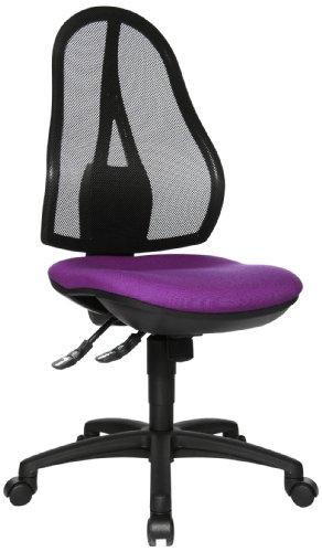 Topstar OP200G03 Open Point SY Chaise de Bureau Violet 48 x 48 x 111 cm