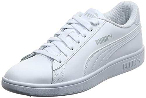 Puma Smash V2 L, Zapatillas Unisex Adulto, Blanco (White White), 44 EU
