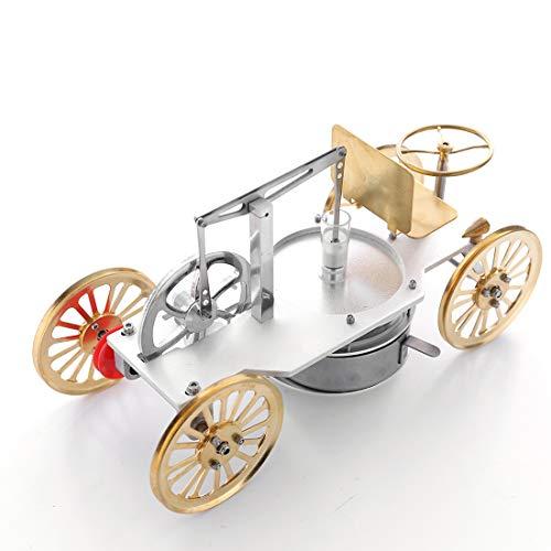 TETAKE Stirlingmotor Bausatz Bootfähig Stirlingmotor Auto Stirlingmotor Niedertemperatur Stirlingmotor Tasse Sterling Motoren für Kinder Erwachsene Technikinteressierte Bastler