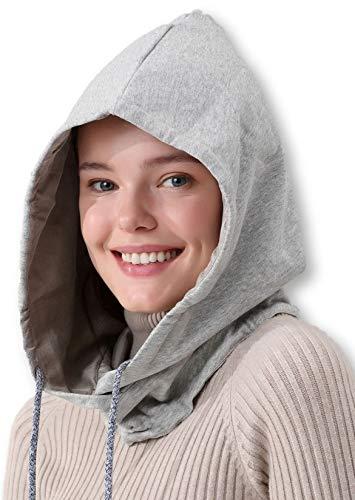 Radia Smart EMF Hood Hat, 5G Anti-Radiation, RF Shielding, WiFi Radiation Protection, Brain Coat, Grey