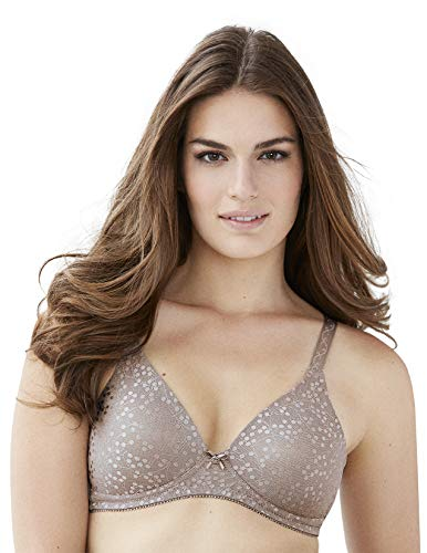 Glamorise womens Perfect Full Figure Plus Size Wireless Padded #3010 (a Cup Only) Bra, Taupe, 58A US