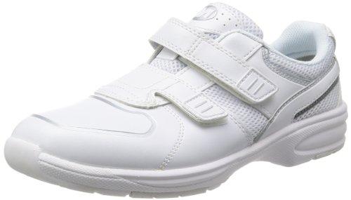 [ミドリ安全] 作業靴 軽量 マジックタイプ スニーカー UL415 メンズ ホワイト 23.5
