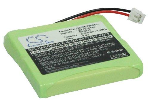 TECHTEK batería sustituye 5M702BMX, para 5M702BMXZ, para CP77, para GP0735, para GP0747, para GP0748, para GP0827, para GP0845, para GP0929, para GP1050, para GPH170-R05, para GPHP70-R05 Compatible c