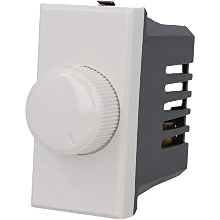 Regolatore On//Off Dimmer Max 1000W 1 Modulo Bianco Compat BTICINO AXOLUTE 20034B