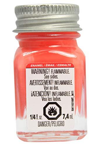 Testors Enamel Paint .25oz-Orange Gloss