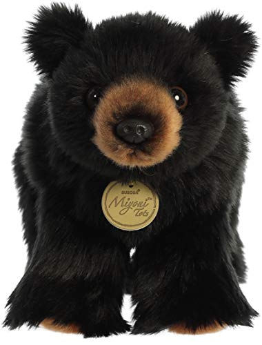 "Aurora - Miyoni - 10"" Black Bear Cub"