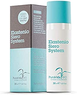 PURAVIDA BIO - Elastenio Siero System - Antioxidant and Anti-Aging Function - Also suitable for sensitive skin - 100% natural perfume - Tested Nickel - Paraben free - Dermatologically tested - Gluten