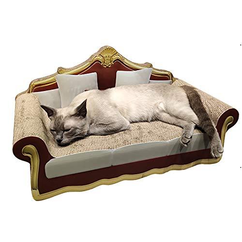 Sofá con Garra De Molienda De Gato De Estilo Europeo, Suministros para Gatos Corrugados, Juguetes para Gatos, Dos Estilos, Se Puede Rascar, Dormir Y Trepar,European Style Couch