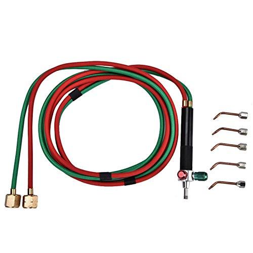 Mini antorcha de gas, antorcha de reparación de joyas duradera, resistente al calor de varios tamaños para el procesamiento de joyas artesanías de soplado de vidrio
