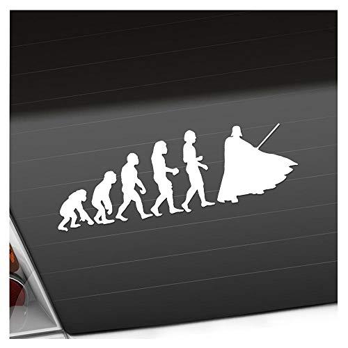 KIWISTAR Aufkleber - Evolution Darth Vader - Autoaufkleber Sticker Bomb Decals Tuning Bekleben