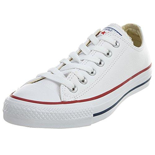 Converse Chuck Taylor Core Lea Ox 246270-55-3 - Zapatillas para mujer, Blanc, 36