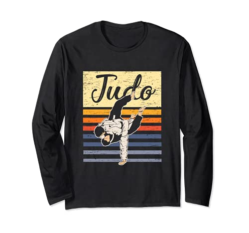 Retro Judo T-Shirt Vintage Judoka...