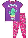 Harry Bear Pijama para niñas Cactus Morado 6-7 Años