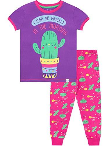 Harry Bear Pijama para niñas Cactus Morado 9-10 Años