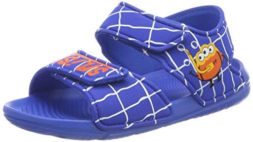 adidas ALTASWIM C, Scarpe da Spiaggia e Piscina Unisex Bambini, Blu (Blue/Blue/Orange Blue/Blue/Orange), 29 EU