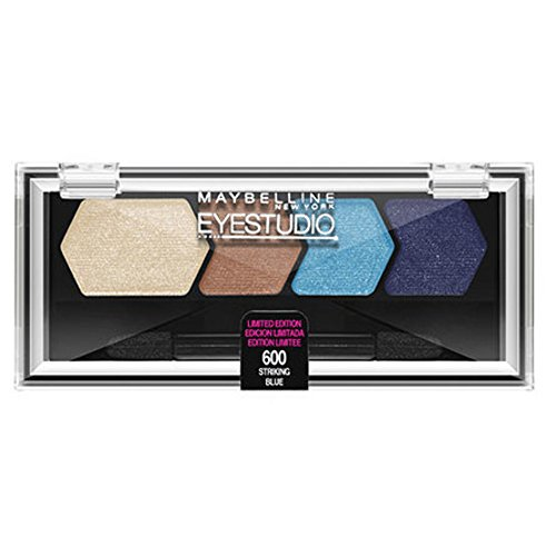 Maybelline Limited Edition Color Goes Electric Collection Eyeshadow - 600 Striking Blue