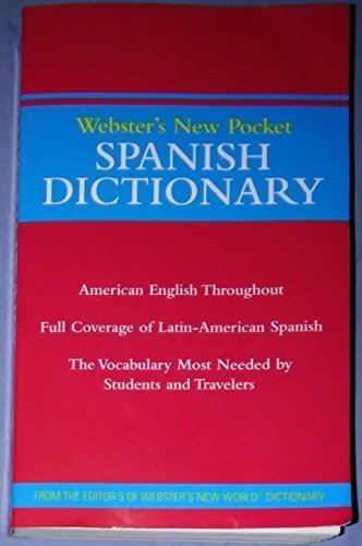 Webster's New Pocket Spanish Dictionary - STAPLES