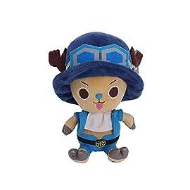 Cute Japanese Anime Luffy Tony Tony Chopper Plush Toy Soft Plushies Dolls Creative Gifts for Fans Baby Kids Boys Girls