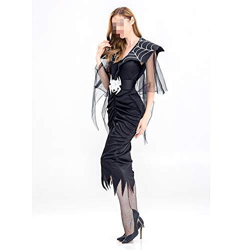 kMOoz Halloween Kostüm,Outfit Für Halloween Fasching Karneval Halloween Cosplay Horror Kostüm,Halloween Karneval Spider Queen Spider Essenz Teufel Spielt Party
