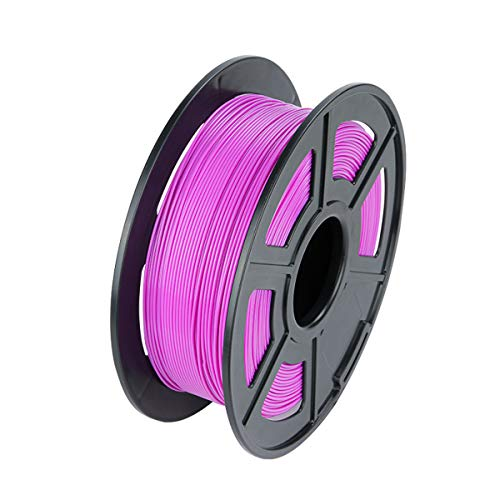 VOMI 1.75mm Purple PLA Filament, Dimensional Accuracy +/- 0.02 mm, PLA 3D Printing Filament 1kg 1 Spool (2.2 LBS) for 3D Printers/ 3D Pens, No Tangles/Vacuum Packaging