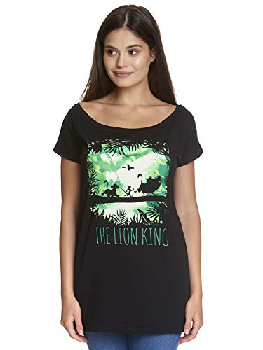 The Lion King Walking Through The Jungle Girl Loose Shirt zwart