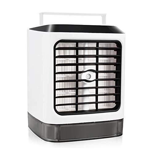 Luftbefeuchter und Luftreiniger Hotel Mini Luftk/ühler Super wind speed Tragbare Klimaanlage Luftk/ühler f/ür B/üro K/üche Neu 2019 3 in 1 Mobile Klimager/äte Klimaanlage Luftk/ühler Air Cooler