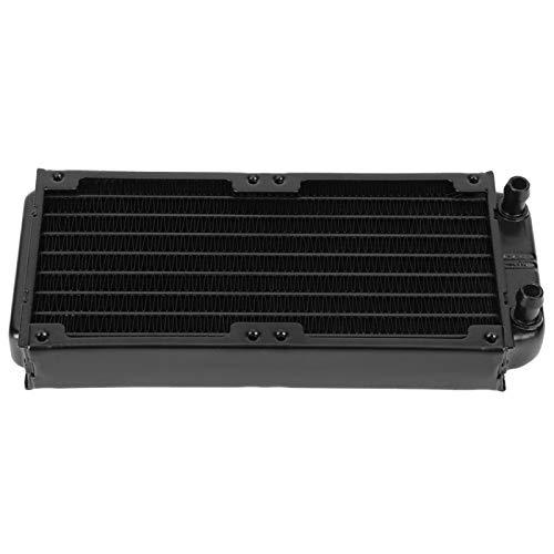 CPU Cooler Tool Aluminio de alta seguridad, 8 tubos planos, refrigerado por agua, CPU, disipador de calor, PC, equipo de refrigeración líquida, CPU, radiador para equipos de belleza, para