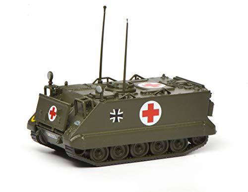 Schuco 452636100 M113 Sanitätspanzer BW, Military, Modellauto, 1:87, Oliv