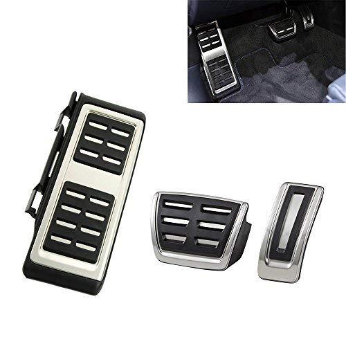 delstahl Fußstütze Pedale für A3 8V S3 RS3 Golf 7 VII Pedals Cover