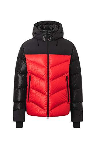 Bogner Fire + Ice Mens Noah-D Rot, Herren Daunen Isolationsjacke, Größe 50 - Farbe Signal