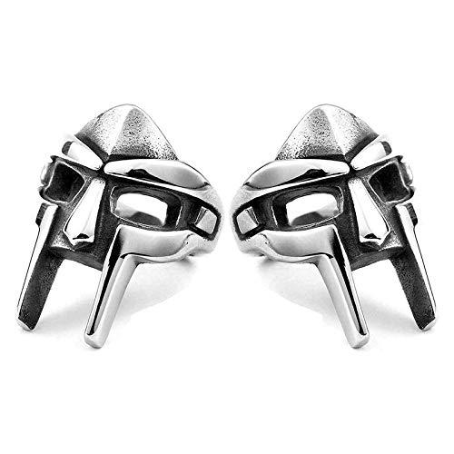 2 pezzi anello gladiatore, anello faraone egiziano, anello stile elmo gladiatore destino, anello moda guerriero romano vintage in metallo argento acciaio inossidabile (11)