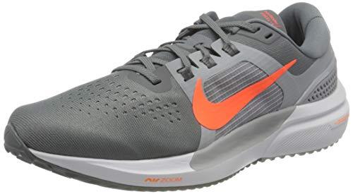 Nike Air Zoom Vomero 15, Scarpe da Corsa Uomo, Cool Grey/Hyper Crimson-Wolf Grey-White, 44 EU