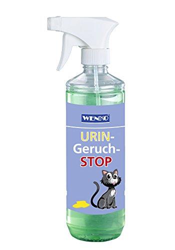 Wenko 8440500 Urin-Geruch-Stopp Tier Geruchsentferner Fassungsvermögen, 500 ml