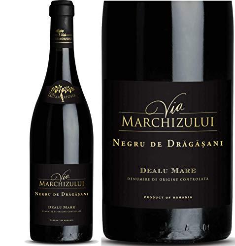 Geheimtipp Weinkenner – Weinrarität Via Marchizului Negru de Dragasani| Trockener Rotwein aus Rumänien | Seltene Rebsorte Negru de Dragasani 14,8% |12 Monate Barrique-Lagerung