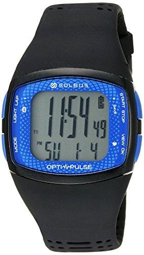 Soleus 'Soleus Pulse Rhythm BLE' Quartz Blue Fitness Watch (Model: SH011-040)