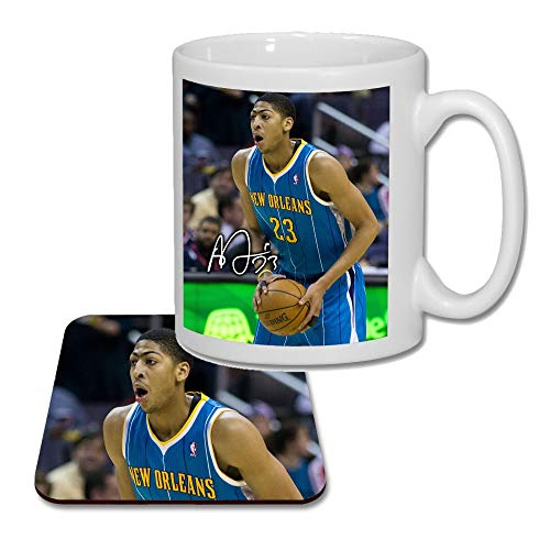 Anthony Davis - New Orleans Hornets - NBA (V1) Matching Mug and Coaster Gift Set ideal Valentines, Birthday Present 2019