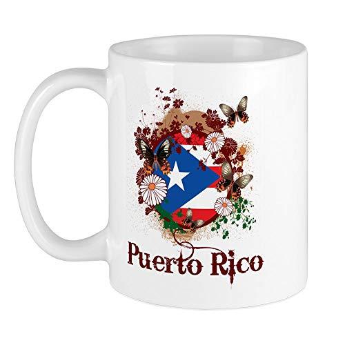 CafePress Butterfly Puerto Rico Mug Unique Coffee Mug, Coffee Cup