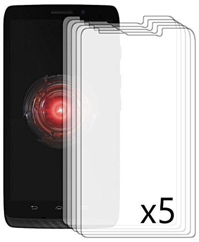 Bastex Antiglare Reflective Matte Screen Protector for Motorola Droid Mini- 5 Pack