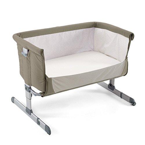 Chicco2016 Side Sleeping Crib Next2Me 'Dove Grey' Baby Crib...