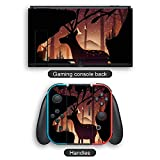 For Nintendo Switch series sticker protection box,Mystical Deer switch cover sticker protection cover (compatible with Switch)