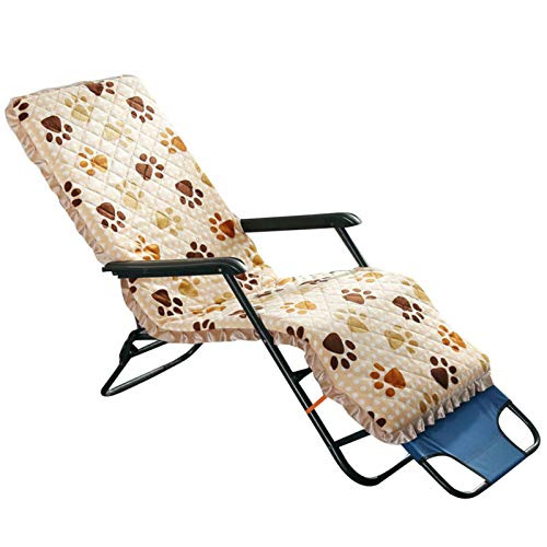 Patio Lounge Chair Cushions Soft Chaise Longue Cushion For Indoor Outdoor Courtyard Use